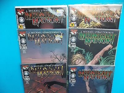 Midnight Nation, Straczynski, Lot of 6 Top Cow Comics