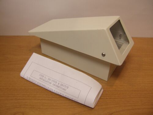 Steel Security Camera Enclosure Video White Housing Itch Surveillance Commercial