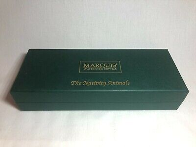 Marquis by Waterford Crystal The Nativity Animals Glass Set With Box