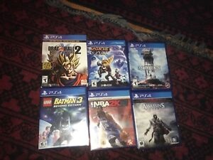 PS4, PS3, Wii Games letting go for cheap, trading ps4 Games too