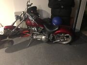 Custom chopper harley North Lakes Pine Rivers Area Preview
