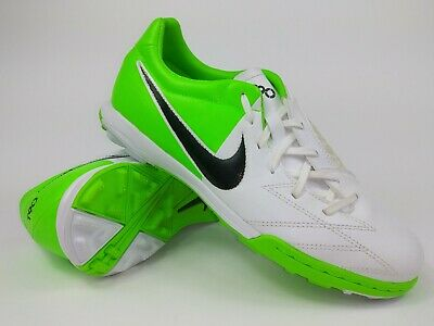 92eed645d Nike Mens Rare T90 Shoot IV Turf Soccer Shoes 472560-170 White Green US  Size 10.  . 99.99