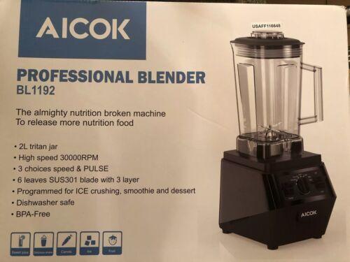 Countertop Blender, Aicok High Speed Blender 1400W Professio