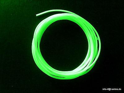 1m Leuchtschlauch Fluo selbstleuchtend 6 mm Meterpreis 3,00€
