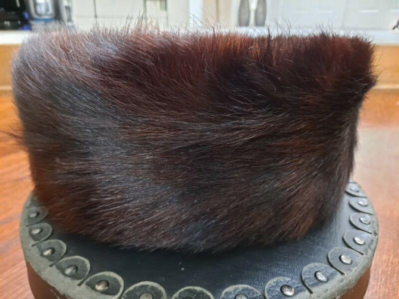 100% Genuine Fur Streimel Yom tov hat handmade in Brooklyn with case