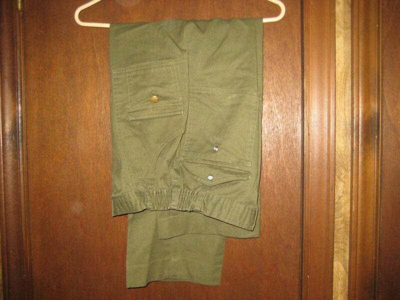 Boy Scout Elastic Waist, Cargo Pockets waist 30 size 20     eb04 #9