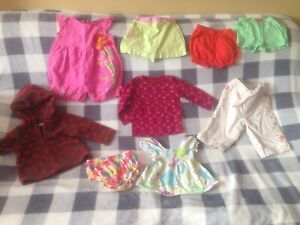 6-12 month girls spring clothing and jacket