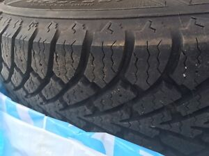 195/65R15. Nordic Ice snow tire s and rims