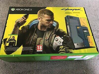 Microsoft Xbox One X Cyberpunk 2077 Limited Edition Console SEALED.