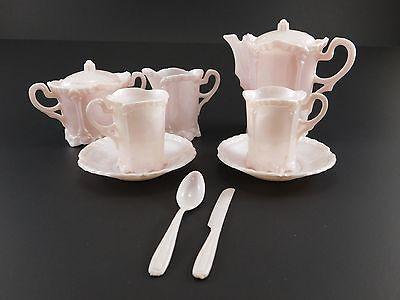 Vintage Banner Child's Pink Plastic Tea Set