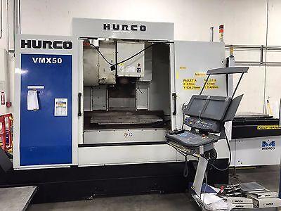 Hurco Mdl. Vmx50-40t 2007 Cnc Vertical Machining Center