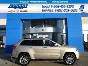 2015 Jeep Grand Cherokee Summit! 4X4! NAV! ROOF! HEATED+COOLED