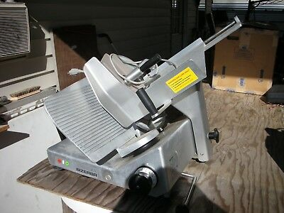 Bizerba Meat Slicer Chrome Used