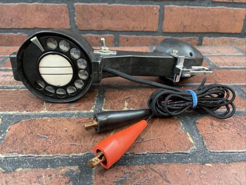 Vintage Beco Rotary Dial Lineman