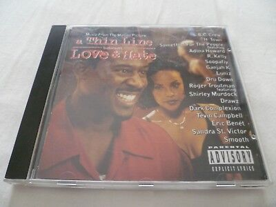 "Various Artists ""Thin Line Between Love & Hate Soundtrack"" CD Album (1996)"