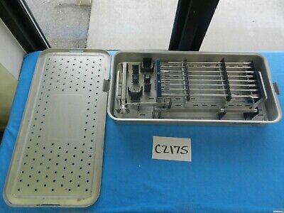 Medtronic Surgical Orthopedic Sofamor Danek Instrument Set W Case