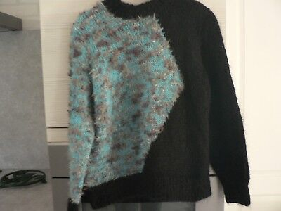 Pull mohair  neuf tricot taille 42 /44  femme  hiver ski