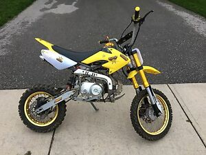 Custom 110cc dirt bike