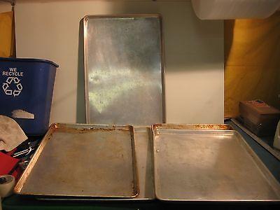 "LOT OF 5 FULL SIZE SHEET PANS 18"" X 26"""