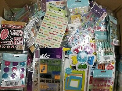 HUGE Lot of 96 K&Company,Sticko,Jolee's,Stickers and Scrapbooking - K & Company