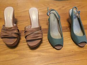 Wedge shoes / sandals