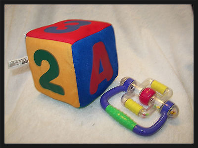 ( baby cube cloth electronic sound effects  5 x5