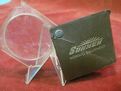 Sunnen Honing Equipment Advertising Pocket Magnifying Glass Made In Germany