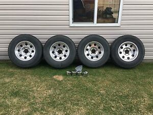 Eagle Alloy Wheels with Firestone Tires *5 on 5.5 Bolt Pattern*