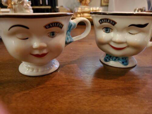 Bailey Yum Yum Boy & Girl  Winking Tea Cups