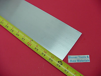 38 X 4 Aluminum 6061 Flat Bar 36 Long T6511 Solid Extruded Plate Mill Stock