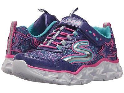 Skechers S LIGHTS-GALAXY LIGHTS Youth Girls Purple Multi 10920L/PRMT Shoes - Purple Multi Schuhe