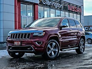 2015 Jeep Grand Cherokee Overland w Rear DVD & a TON MORE Opt...