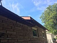 Eavestrough cleaning and free inspection 75$