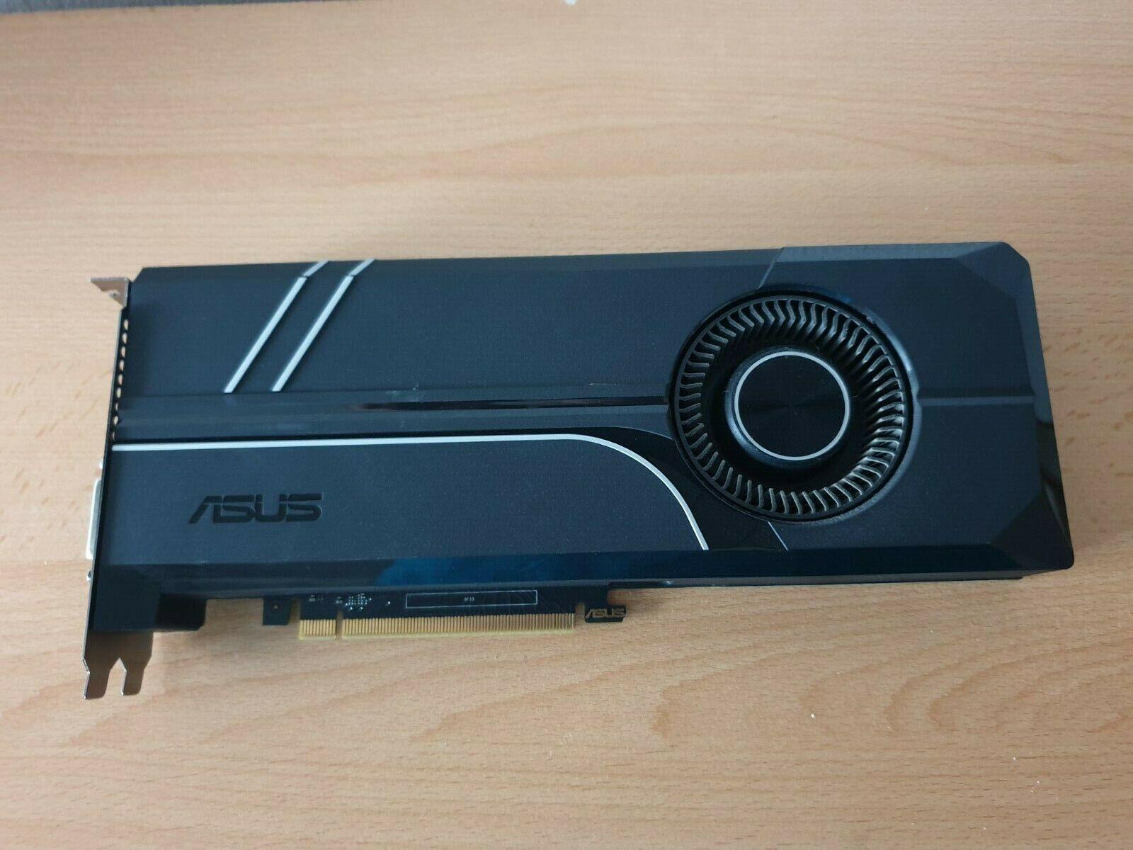Asus GeForce GTX1060 6GB Turbo GDDR5 PCIe Grafikkarte