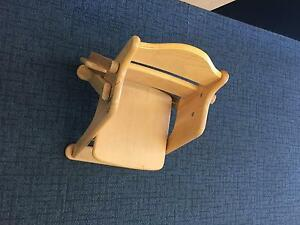 Wooden High Chair Sunshine Brimbank Area Preview