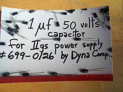 APPLE //gs IIgs  INTERNAL POWER SUPPLY REPAIR KIT:  DYNACOMP,  $3.50 + $3.40 s/h