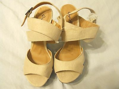 Qupid Women Shoes Sandals Heels Size 6  for sale  Shipping to Nigeria