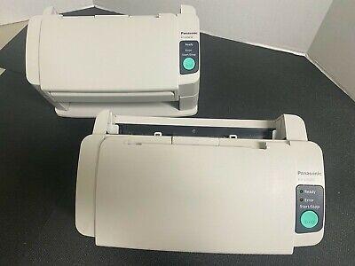 LOT OF 2 - Panasonic KV-S1025C Scanners