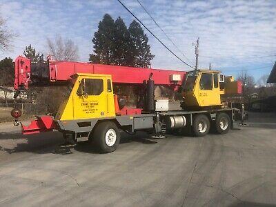 Crane Terex Lorain Mch230-e Hydraulic Truck Crane