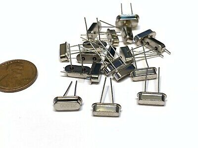 20 Pieces Crystal Oscillator Hc-49s 20mhz 20.000mhz 20m Quartz Passive Bxr B7