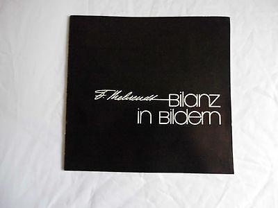 Signiert Fritz Behrendt Bilanz in Bildern Katalog zur Ausstellung 1950-1975