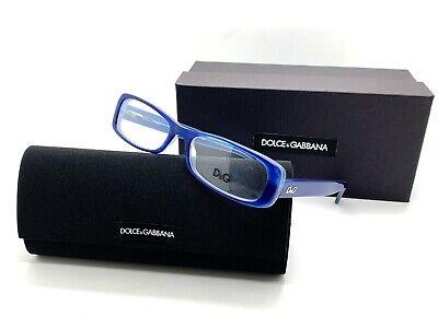 NEW Dolce & Gabbana D&G 1199 1762 Blue Unisex Eyeglasses , Size (Dolce Gabbana Reading Glasses)