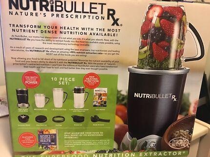 NutriBullet RX 1700W 10 Piece Set