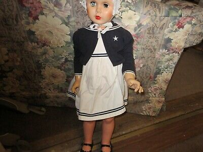 Scary Vintage 36 Child Mannequin Toddler Sized 18 Mo. Painted Facerooted Hair