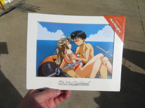 Oh My Goddess Ani-Magine Chroma-Cel Limited Edition Print Numbered Anime 90s