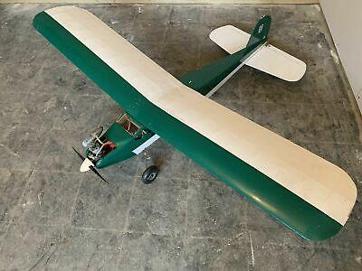 Vintage High Wing RC Plane 146cm Span Thunder Tiger 25GP Futaba Servos