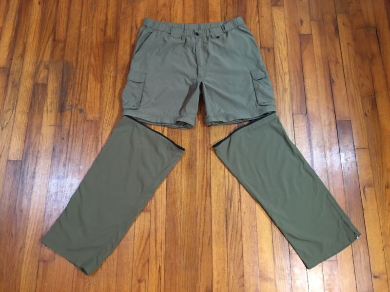 Boy Scouts America BSA Uniform Pants Shorts Mens Large Convertible Switchback