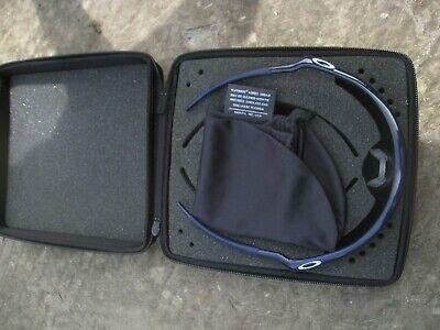 Oakley PRO M Frame sunglasses, NOS. Dark blue, Gold iridium lens. No2 for sale  Shipping to Canada
