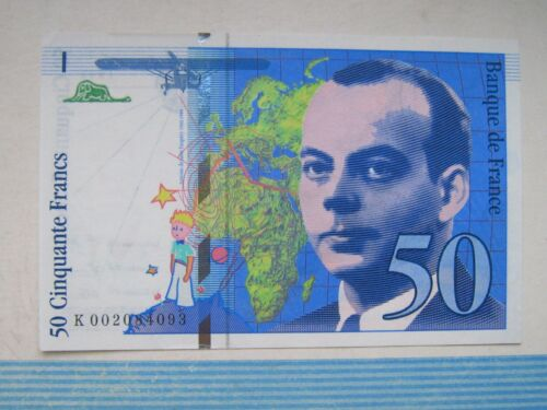 France 50 francs 1993 St Exupéry