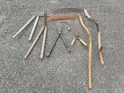 Vintage Antique Large Scythes plus much more .